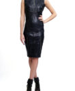cathias edeline leather dress