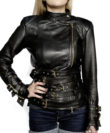 cathias edeline biker leather jacket