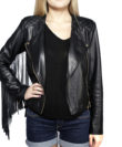 cathias edeline fringe leather jacket